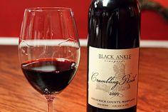 Black Ankle Vineyards wines at MD Wine Bar - Berlin, MD