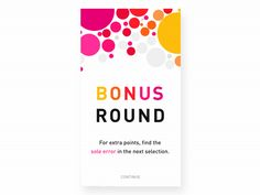 Answer animation + transition to the bonus round screen for an Elevate game called Detail. Interaktives Design, Best Ui Design, App Ui Design, Sketch Design, Design Concepts, Interaction Design, Interface Design, Motion Design, Ui Animation