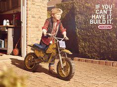 """Young & Rubicam signe la nouvelle campagne des jouets Meccano """"If you can't have it, build it"""""""
