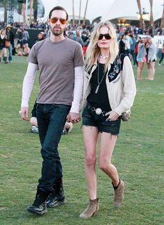 In Kate Bosworth went for the western look in Isabel Marant // Coachella 2012, Coachella Festival, Festival Outfits, Coachella Style, Festival Wear, Kate Bosworth, Isabel Marant, Music Festival Fashion, Festival Style