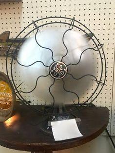 Vintage GE Fan   Works!   $240  Mid Century Dallas Booth 766  Lula B's 1010 N. Riverfront Blvd. Dallas, TX 75207  Open: Mon. to Sat. 10A to 6P Sun. 12P to 6P  Like Mid Century Dallas
