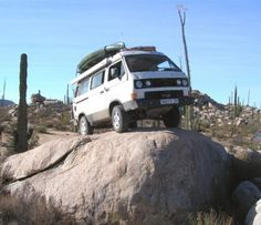 Test Mule: The GoWesty R Vehicle - Library Article - GoWesty Camper Products - parts supplier for VW Vanagon, Eurovan, and Bus