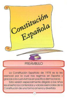 Constitución española Chocolate, Socialism, Constitution Day, One Day, Index Cards, Short Stories, Schokolade, Chocolates