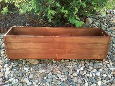 Dřevěný truhlík Peťule (DxŠxV) 100x20x22 přírodní provedení s impregnací