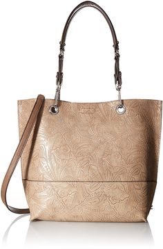 Calvin Klein Sonoma Tulling Reversible Tote, Dark Taupe/Wheat ** Visit the image link more details.