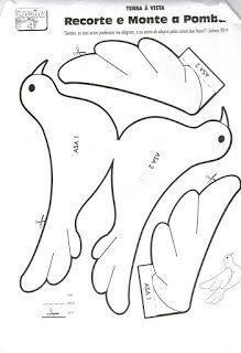 Best 10 Tilda bird pattern by betsy – SkillOfKing. Paper Birds, Felt Birds, Fabric Birds, Paper Flowers, Bird Crafts, Felt Crafts, Diy And Crafts, Diy Paper, Paper Art