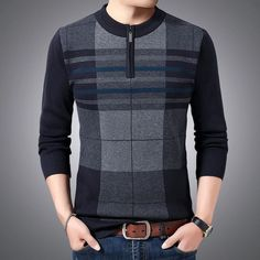 Pullover Designs, Aliexpress, Wool Sweaters, Hats For Women, Sleeve Styles, Casual, Men Sweater, Mens Fashion, Men's Tanks