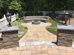 Get the most out of your Cambridge Fire Pit during all seasons of the year! Installation: Heritage Design Group