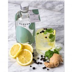 Clover Gin  SHOP ONLINE: http://www.purelifestyle.be/shop/view/giving/gin-tonic/clover-gin