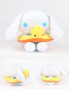 Cinnamoroll Ducky Ring Plush #sanrio