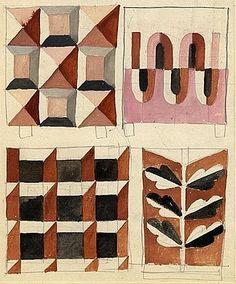 from a sketchbook of alexander girard - girard studio