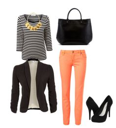 summer - fall outfit Looks like something Hanna or Spencer would wear from PLL
