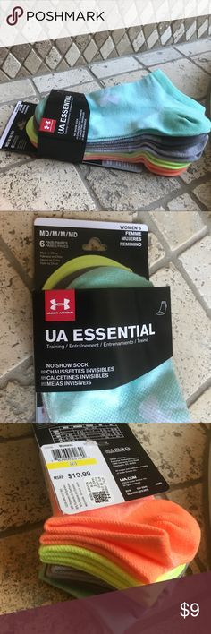 Women's socks Brand new6pack of women's Under Armour socks in variety of colors Under Armour Accessories Hosiery & Socks