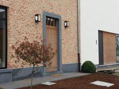 Landelijk voordeur hout afromosia