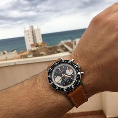 REPOST!!!  Spain for a couple of days  TGIF and have a great weekend!   #crotonwatch #crotonchronomasteraviatorseadiver #crotonchronomaster wristwatch #wristshot #watches #watchesofinstagram #watchnerd #ks #klocksnack #wristshot #watchuseek #WUS #watchesofinstagram #vintage #mwrforum #todayswatch #wruw #hodinkee #heuer #vintagechronograph #otd #onthedash #wis #chronograph #lemania #valjoux #landeron #wornandwound  Photo Credit: Instagram ID @pjmolin