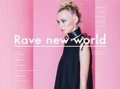 Stories Collective / Rave New World / photography Janneke Storm / styling Isobel Badin / make up Kate Shanahan / hair Breana Shanahan / model Abbie Heath at IMG / design Bruno Tatsumi at U.I.WD. #editorial #fashion #photography #layout