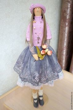 "Купить Кукла "" Алёна "" - кукла ручной работы, кукла Тильда, куклы и игрушки ♡"