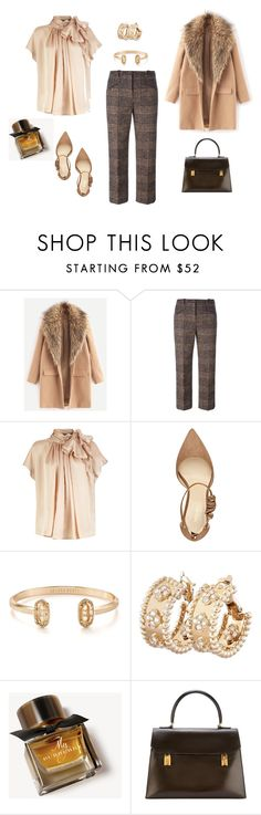 """""""Untitled #288"""" by peggysoans ❤ liked on Polyvore featuring Sonia Rykiel, Nine West, Kendra Scott, Van Cleef & Arpels, Burberry and Hermès"""