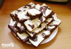 Boci szelet cukor nélkül | Nosalty Kefir, Cukor, Waffles, Food And Drink, Low Carb, Pie, Healthy Recipes, Healthy Food, Snacks