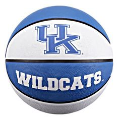 NCAA Kentucky Wildcats Collegiate Deluxe Official Size Rubber Basketball by Baden. Save 3 Off!. $17.44