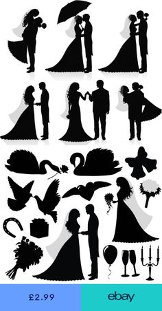 (disambiguation) A silhouette is the image of a person, animal, object or scene represented as a solid shape of a single color, usually black, with its edges matching the outline of the subject. Silhouette or Silhouettes may also refer to: Portrait Silhouette, Silhouette Art, Silhouette Projects, Stencils, Wedding Silhouette, Crayon Art, Vector Graphics, Vector Vector, Vector Free