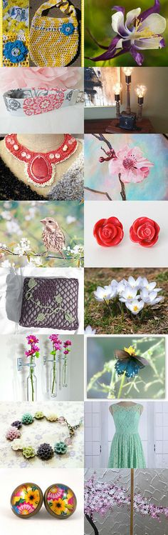 Longing For Spring! by Joanna Stanek on Etsy--Pinned with TreasuryPin.com