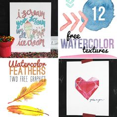 15 Watercolor Projects And Printables For The Beginner Want to meet one of my inspirations when it comes to all things crafty? Cause today I'm excited to introduce you to my friend Alexis from Persia Lou. She is one talented lady and I just absolutely love her! We have been long time blogging buds and met in person for the first time this past spring at SNAP. #roomies  So let's get to it…take it away Alexis!  Hey there! I'm Alexis, the girl behind the craft and DIY blog, Persia Lou. I am so…