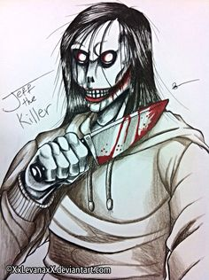 Jeff the Killer -Redesign- by XxLevanaxX on DeviantArt