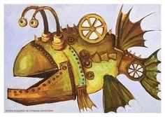 Удивительные жители населяют миры Игоря Коцарева. Фантастические рыбы облюбовали водные глубины но совсем не пугают а наоборот дружелюбно приглашают погрузиться в особую атмосферу живописных полотен художника. #спб #fossart #fossart_тренинг #саморазвитие #fossartgallery #psychology #куда_пойти_в_питере #события #spb #art #painting #искусство #подарок #идеяподарков #входбесплатный #спб #выставкапродажа #картинавинтерьер #интерьер #подарок #украшениеинтерьера #большаяморская19 #искусство #рыба…