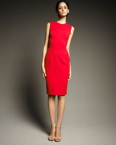 Narciso Rodriguez Seam-Detail Sheath Dress Profile Photo