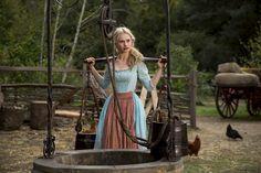 Lily James as Ella in Cinderella (2015).