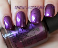 OPI - Suzi and the 7 Dusseldorfs. Another gorgeous purple!