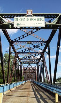 82X Route 66 - Old Chain of Rocks Bridge