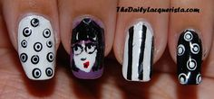 The Daily Lacquerista: Beetlejuice - Lydia!