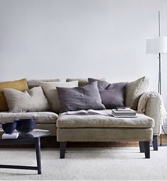 great linen sectional