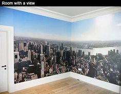 Printed Space: New York Panoramic  So many cool ideas & products on this site