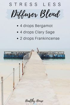 Stress Less Diffuser Blend with Bergamot Essential Oil, Clary Sage Essential Oil and Frankincense Essential Oil Helichrysum Essential Oil, Clary Sage Essential Oil, Essential Oils For Headaches, Essential Oils For Skin, Frankincense Essential Oil, Essential Oil Diffuser Blends, Essential Oil Uses, Essential Oil Combinations, Stress