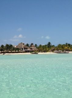 A must see while staying at The Beloved Hotel Playa Mujeres... Isla Mujeres. Departures from the Marina next door!
