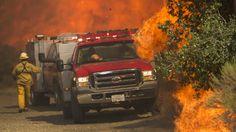 Blue Cut wildfire latest to strike California - WCYB