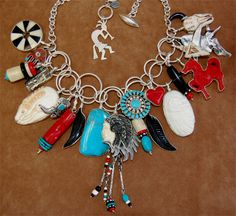 COREEN CORDOVA, Red Heart West Necklace