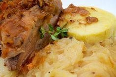 Recept: Kalerábová kapusta s pečeným mäsom | Nebíčko v papuľke