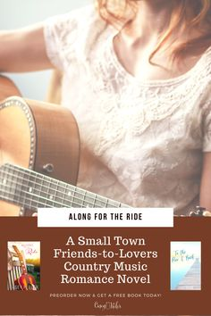 Discover Along for the Ride- A friends to lovers country music novel. It releases July 14, 2020. Preorder your copy today and download a free copy of To the Pier & Back. #books #preorder #romance #countrymusic Books To Read For Women, Books For Moms, Lovers Romance, Romance Novels, Will Sparks, Long Time Friends, Small Towns, Country Music, Destress