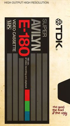 TDK Video Tape