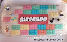 5th Birthday Party - Lego Cake From the Blog Feste e Sorrisi