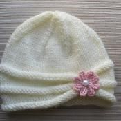 Rolled Brim Hat for a Girl - via @Craftsy