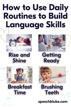 Make the most of your time together doing everyday routines. Find out how to boost your little ones speech and language skills while doing daily tasks.