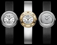 Piaget Possession in white gold, rose gold and pave.