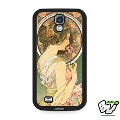 Alphonse Mucha Art Nouveau Samsung Galaxy S4 Case