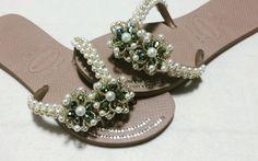 HAVAIANA FLAT LASULI (flor de cristais)