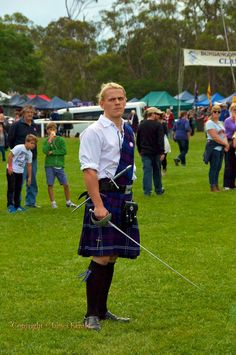 Bundanoon is Brigadoon. 36th Scottish Highland Gathering. Bundanoon, NSW, Aust.